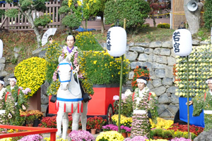 二本松の菊人形と猪苗代世界ガラス館の旅